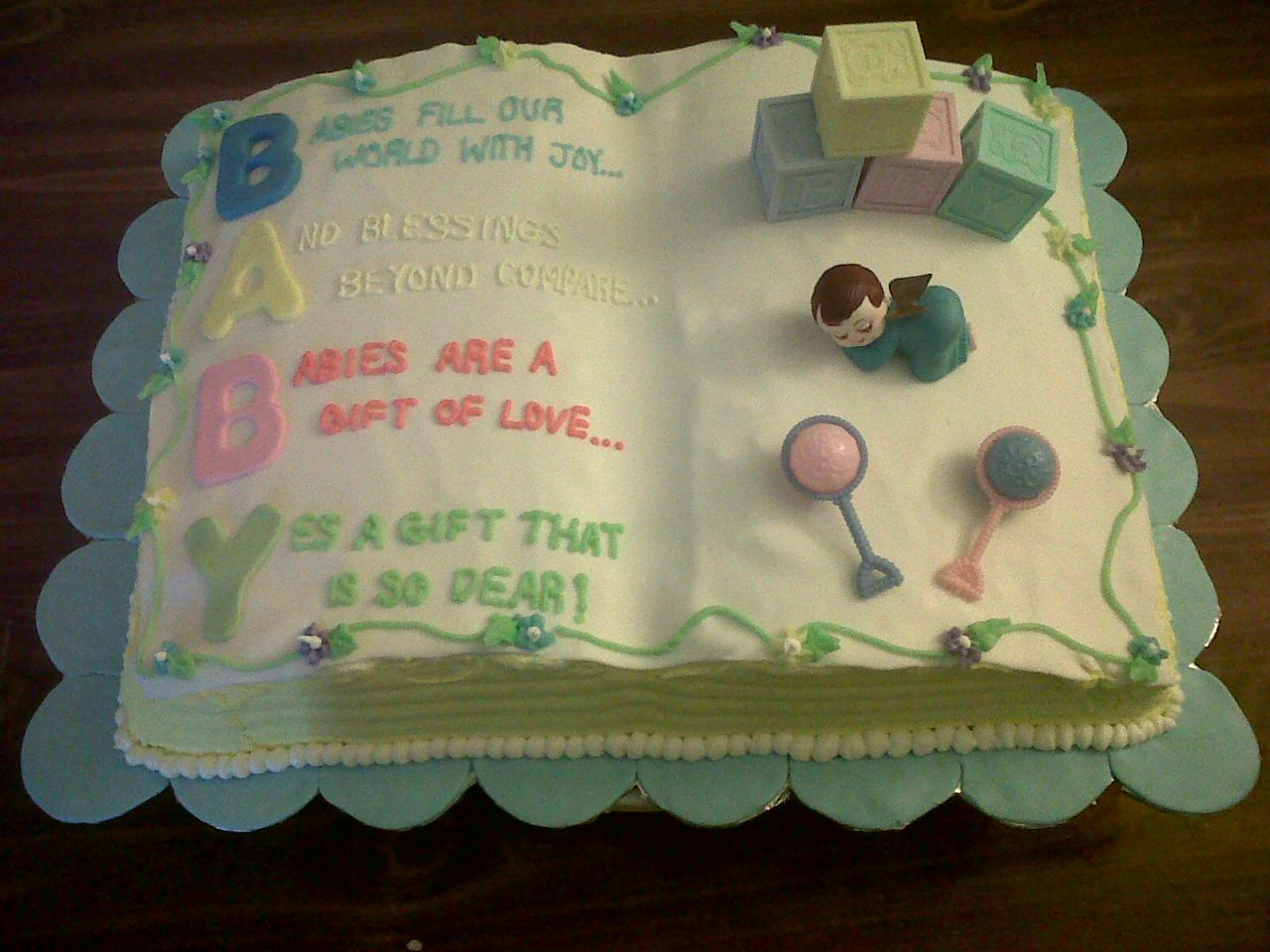 Baby Shower Cakes Gallery